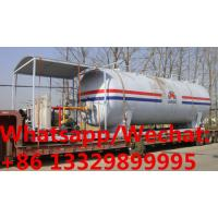 Best customized 50,000Liters skid propane gas station with 4 electronic filling scales for sale, mobile skid lpg gas plant wholesale