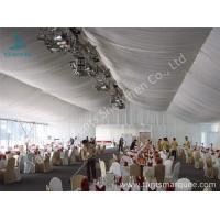20m Width Outdoor Event Tents , Full Decorations Large Tents For Outdoor Events