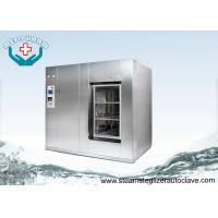 China Over Temperature Protection Hospital Steam Sterilizer With Automatic Loading And Unloading System on sale