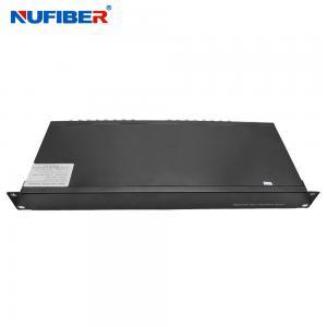 Best 32BNC Video Optical Multiplexer Fiber Optic Video Transmitter And Receiver wholesale