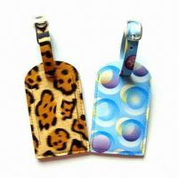Best Personal Decoration Luggage Tags with Nominal Quotation, Made of Plastic wholesale