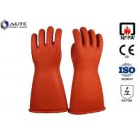 Best Acid Protection Dupont PPE Safety Gloves , Fire Safety Hand Gloves For Hazardous Chemicals wholesale