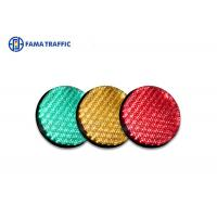 Best High Efficiency Traffic Light LED Module , Traffic Signal LED Lights With 200mm Cobweb Lens wholesale