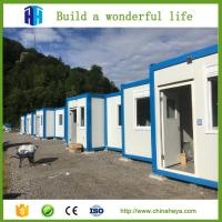 China prefab sandwich panel folding container van house for sale philippines on sale