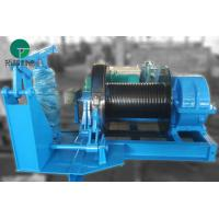 Best 10 Ton Material Handling Electric Belt Type Brake Industrial Winches With Wire Rope wholesale