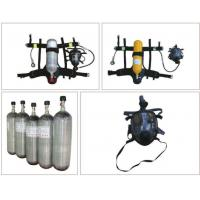 China SOLAS Personal Protective Equipment Of Carbon Fiber Gas Cylinder SCBA on sale