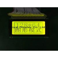 China 128 X 64 Graphic Lcd Display , Lcd Dot Matrix Display 5v Power Supply on sale
