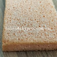 China Soft Flexible Close Surface Silicone Sponge Sheet , High Density Silicone Rubber Foam on sale