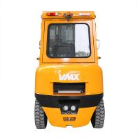 China Yellow Color Warehouse Lifting Equipment / Diesel Engine Forklift 3.5 Ton on sale