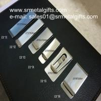 Stainless steel money wallet clips, polish steel money clips wholesaler