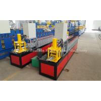 Buy cheap Galvanized Window Frame / Door Frame Roll Forming Machine 16 Roller PLC Control product