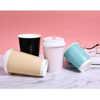 Best Single Wall 90mm 8oz Eco Friendly Paper Cups For Hot Drinking wholesale