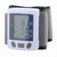 Buy cheap Wrist Blood Pressure Monitor with Auto Power Off and 2 x AAA Batteries from wholesalers