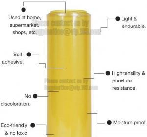 Best Durable Heavy Duty Plastic Bags Stretch Wrap Industrial Strength Film / Wrap 1200ft wholesale