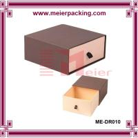 Best luxury drawer bangle jewelry paper box/slider paper jewelry ring box ME-DR010 wholesale