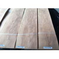 Best Eco Friendly Durable Cherry Crwon Cut Veneer Sheet With 0.5mm Thickness wholesale