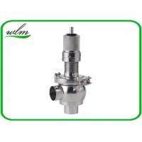 Best Butt Weld Sanitary Pressure Relief Valve with Spring Return Configuration , Slight Opening wholesale