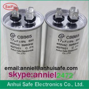 Best old brand CBB65 oil polypropylene film filling 25uf 10uf 15uf 20uf high quality cbb65 wholesale