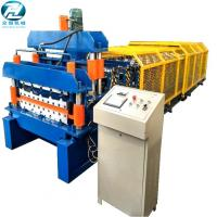 Best Full Automatic Double Glazed Tile Roll Forming Machine With Wave Pressing wholesale