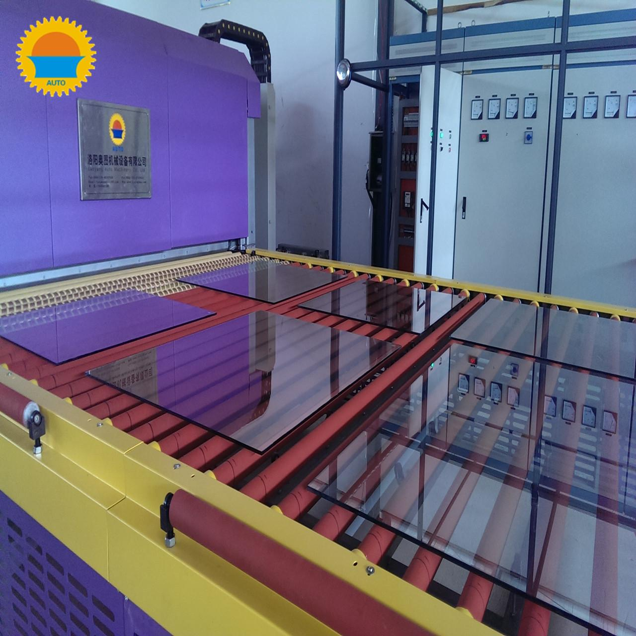 China Automobile Glass Tempering Line Tempered Glass Making Machine 1 Year Warranty on sale