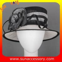 Best Elegant fancy Church sinamay hats for ladies ,Sinamay cloche hats wholesale
