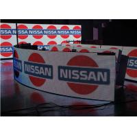 Best Flexible Indoor P5 Curved Led Video Wall For Advertising , 5MM Pixel Pitch wholesale