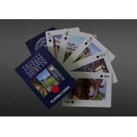 Best 54pcs Standard Custom Printed Poker Paper Playing Cards wholesale