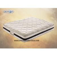Best Resilient 3D Pillow Top Compression Mattress 10 Inch For Hotel / 2000 Pocket Mattress wholesale
