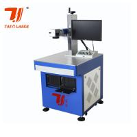 Best Cnc Fiber Laser Marking Machine / Metal Engraving Machine For Jewelry  wholesale