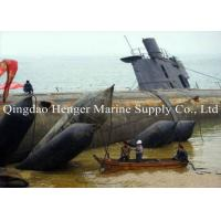 Best Marirne Rubber Rescue Boat Recovery Airbags Fairing Line Shape For Wreck Ship wholesale