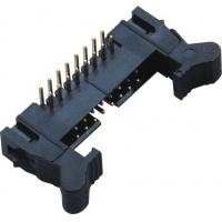 Best 90°DIP Ejector Latch Header Male 16 Pin Idc Connector 2.00mm Pcb Pin Header wholesale