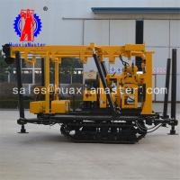 China Durable, mobile XYD-130, crawler type core drilling machine , 100 meters crawler mounted water well drilling machine on sale
