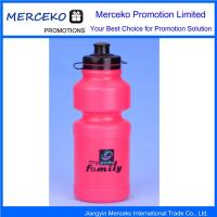China Outdoor Logo Printed Plastic Sport Water Bottle on sale