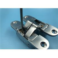 Best Proven Design Adjustable SOSS Hinges / 180° Opening Invisible Cabinet Hinges wholesale