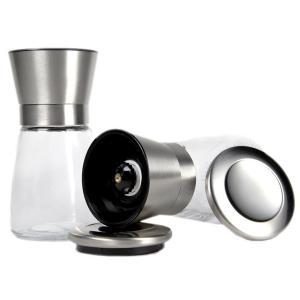 Buy cheap Mini Glass salt pepper mill from wholesalers