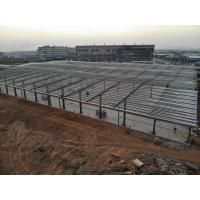 Cheap Light Color Steel Structure Frames For Logistics Center Warehouse And Workshop for sale