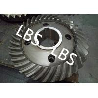 Steel Spiral Bevel Double Helical Gear Shaft Polishing Anodic Oxidation