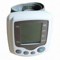 Best Wrist Blood Pressure Monitor with LCD Digital Display and 20 to 300mmHg Range wholesale