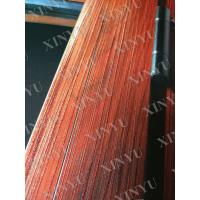 China 6063 T5 Wood Grain Transfer Printing Aluminium Extrusion Profile for Wardrobe on sale