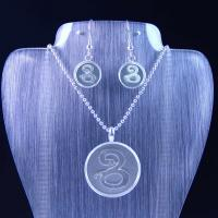 Best High Quality Stainless Steel Jewelry Set LUS65 wholesale