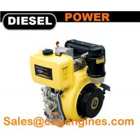 China 10HP Single-cylinder	4-stroke Diesel Engine on sale