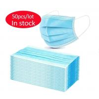 China N95 Ffp2 Ffp3 Respirator Anti-Coronavirus Disposable 3-Ply Non-Woven Mask Dust Facial Mask  Surgical Mask Medical Mask on sale