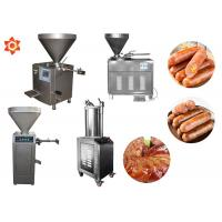 China Stable Performance Industrial Sausage Making Machine 12 Month Warranty on sale