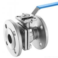 Best DIN 2pc Floating Type Stainless Steel Ball Valve With ISO5211 Direct Flange End Cf8m/SS ball valve/150LB wholesale