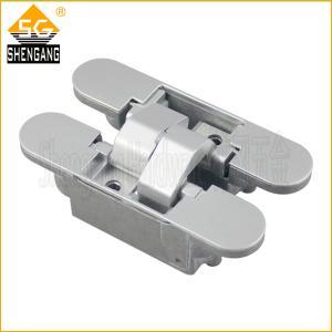 China 180 degree zinc alloy 3D adjustable hidden door hinge on sale