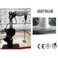 Best Small Size Robotic Welding Cell Space Saving Dimensional Stable With Positioner wholesale