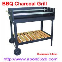 Best BBQ Charcoal Grill with trolley wholesale