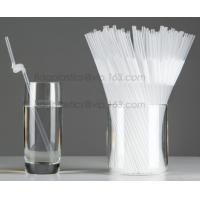 Best Disposable cute plastic white straight drinking straw, PLA individually wrapped drinking Straws, PLA straws disposable wholesale