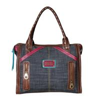 China Lady handbag, Jeans material large size, Popular for Peru on sale