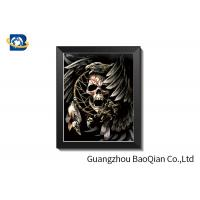 Best ODM 3D Picture Lenticular Printing Skull , Picture 5D Stock Picture With Frame Deep Effect 0. 65 mm wholesale